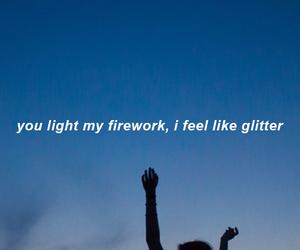 glitter, jana, and Lyrics image