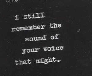 quotes, night, and voice image