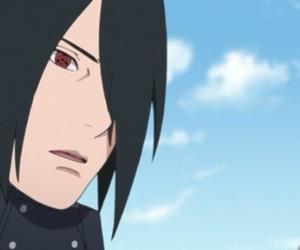 anime, sasuke uchiha, and boruto image