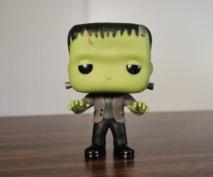 Frankenstein, funko pop, and horror image