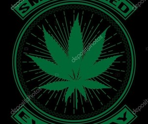 black background, weed, and pot leaf image