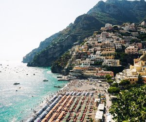 italy, outside, and sea image