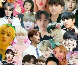 Collage, kpop, and bts image
