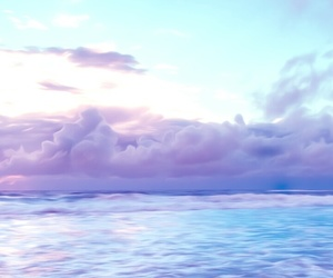 purple, blue, and pastel image
