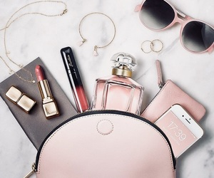 accessories, girl, and pink image