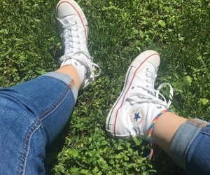 aesthetic, tumblr, and shoes image