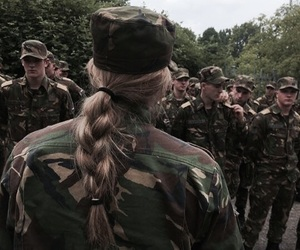 army, goals, and gurl image