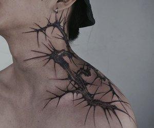 grunge, tattoo, and woo wonjae image
