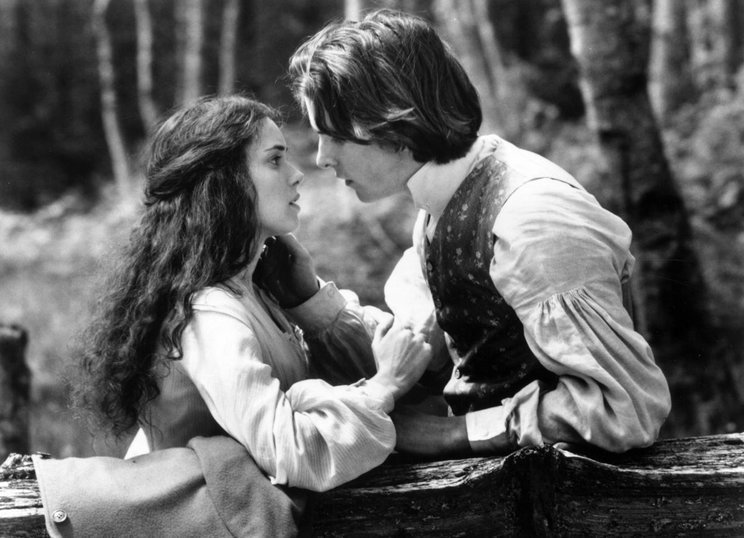 little women, winona ryder, and christian bale image