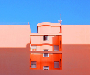 architecture and peach image