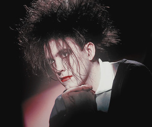 robert smith, goth, and gothic image