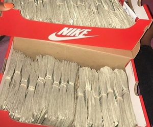 money and nike image