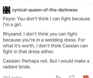 cassian, feyre, and rhysand image