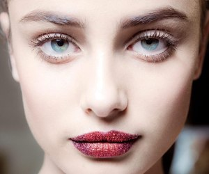 model, taylor hill, and lips image