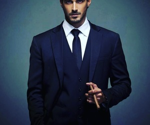 man, Hot, and suit image