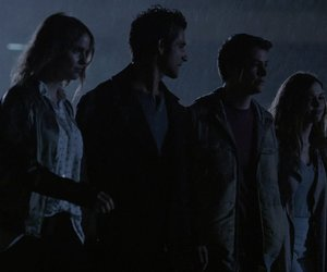 lydia, scott, and stiles image