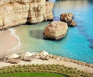 beach, belleza, and mar image