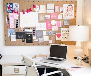 desk, home office, and room image