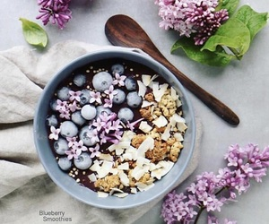 blueberries, cook, and food image