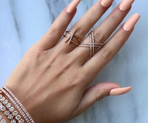accessories, Nude, and rings image