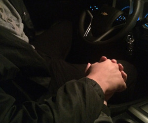 couple, Relationship, and car image