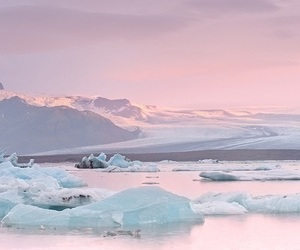 pink, pastel, and ice image