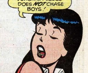 comic, riverdale, and veronica lodge image