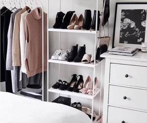bedroom, clothes, and sweaters image