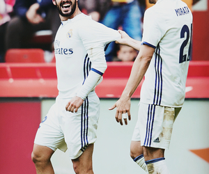 football, friendship, and real madrid image