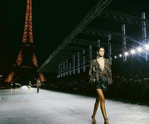 fashion, model, and paris image