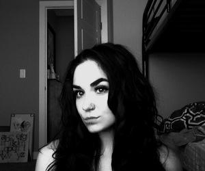black and white, baddie, and love image