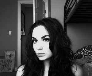 eyebrows, girl, and glamour image