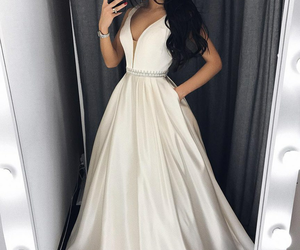 evening dress, dress, and prom dresses image