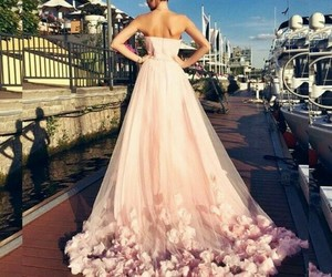 pink amazing dress wow image