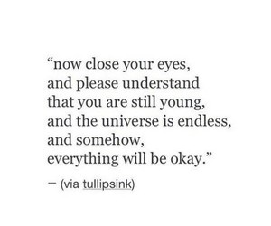 quotes, universe, and young image