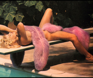 blonde, Nude, and pink image