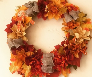 diy, fall, and wreath image