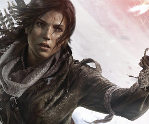 game, gamer, and lara croft image