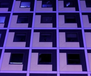 architecture, purple, and violet image
