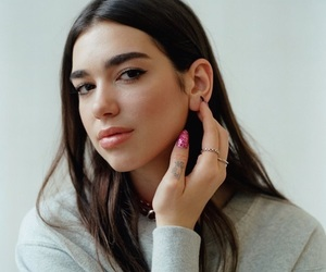 dua lipa and celebrity image