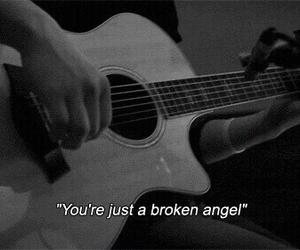 angel, broken, and sad image