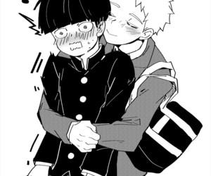 blush, hug, and ship image