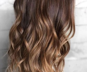 brown, color, and hair image