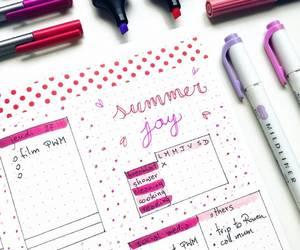 notebook, notes, and organizacion image