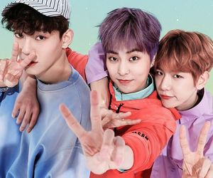 Chen, cbx, and minseok image