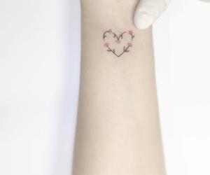 girly and tattoo image