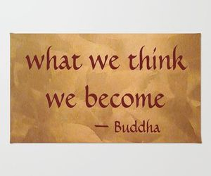 Buddha, gifts, and quotes image