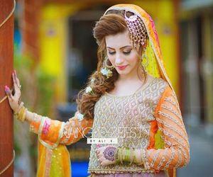 bride, muslim bride, and desi image