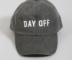 baseball cap, fashion, and day off image