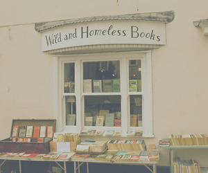 book, vintage, and homeless image